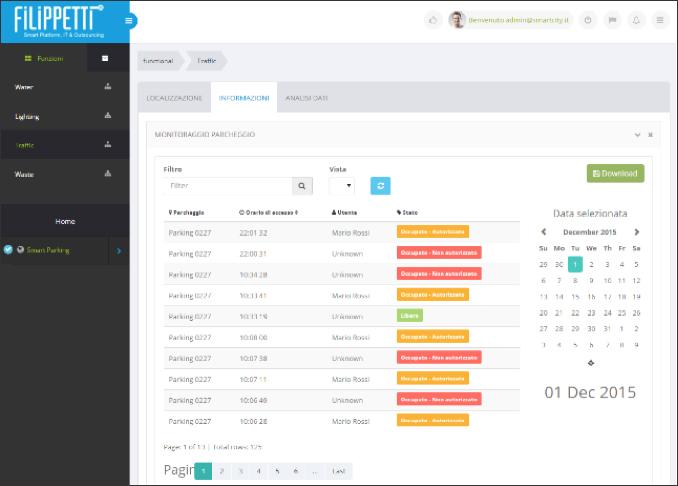 14.5-Monitoraggio Parcheggio-Platform-userguide